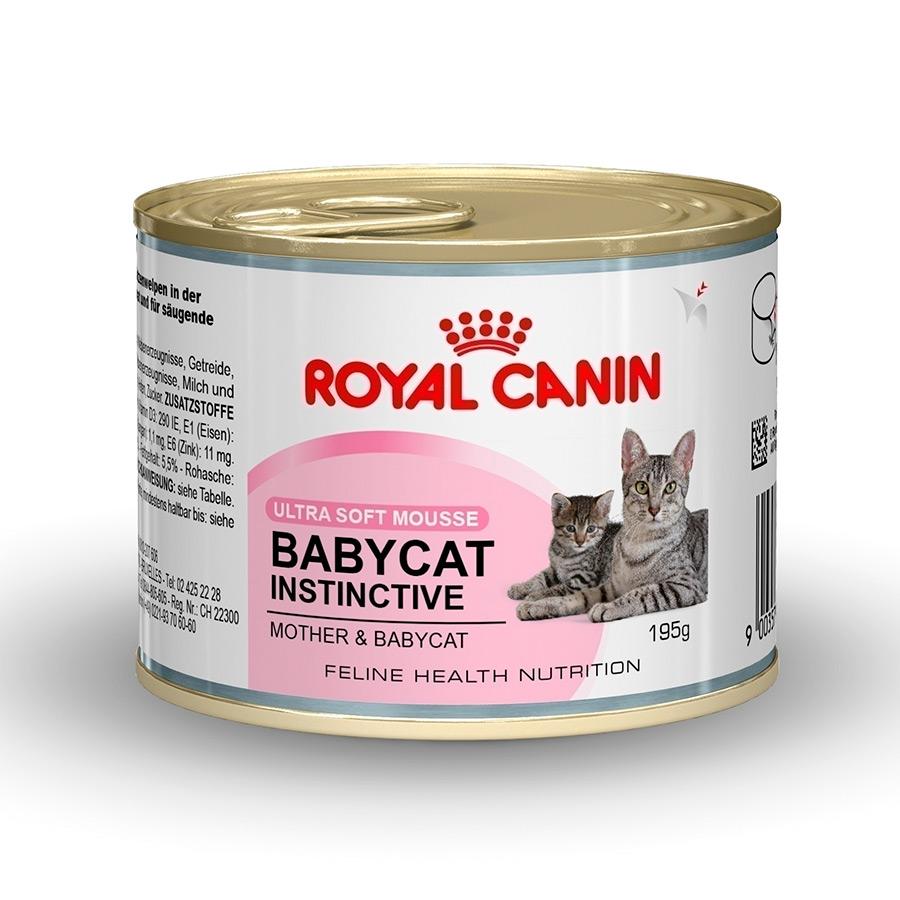 PACK 12 LATAS ROYAL CANIN BABYCAT INSTINCTIVE