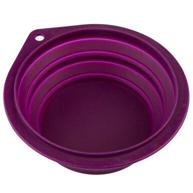 TK-Pet Bowl de sillicona plegable para perro