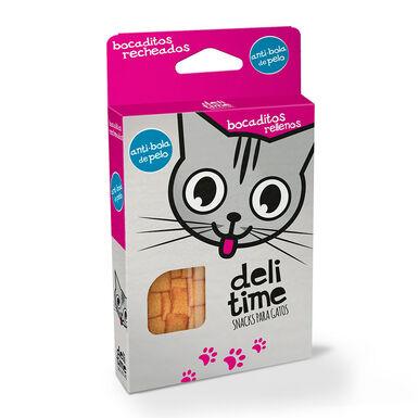 Snacks Delitime Bocaditos rellenos para gato 70 gr