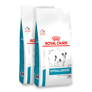Royal Canin Veterinary Diet Hypoallergenic Small Dog - 2x3,5 kg Pack Ahorro