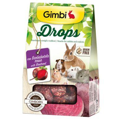 Gimbi Drops remolacha snack para roedores