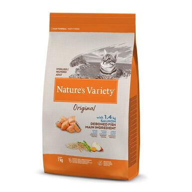 Nature's Variety Original con salmón para gato esterilizado