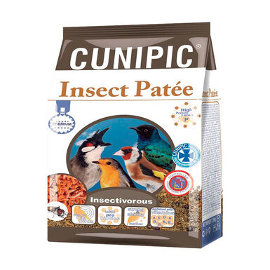 Pasta de cría Cunipic para pájaros insectivoros