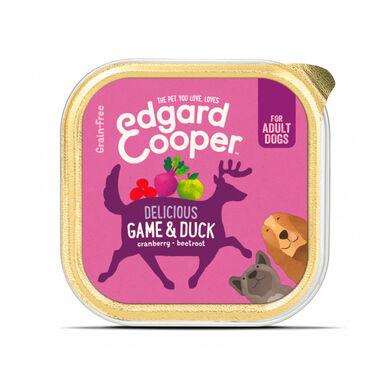 Pack 11 Tarrinas Edgard & Cooper tarrina comida húmeda 150 gr