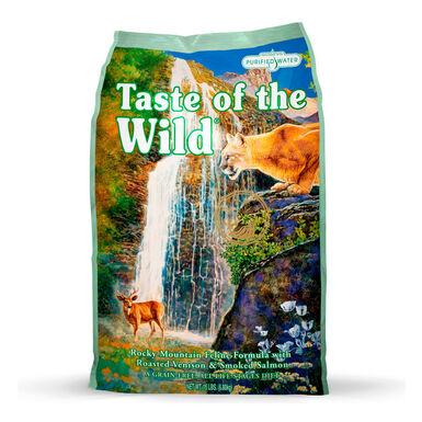Taste of the Wild Feline Rocky Mountain venado y salmón
