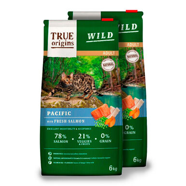 True Origins Wild Cat Adult Pacific - 2x6 kg Pack Ahorro
