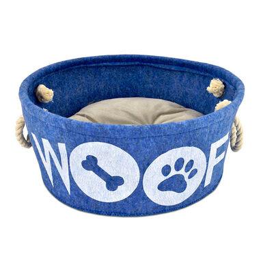 Cuna Atelier Woof Azul 35