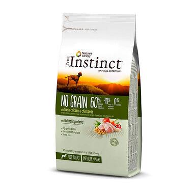 True Instinct No Grain Medium/Maxi Adult con pollo