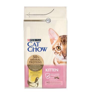 Cat Chow Kitten comida para gatos cachorros carne