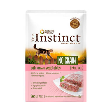 True Instinct No Grain Feline Pouch 8 x 70 gr