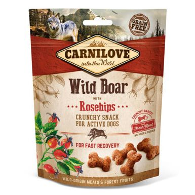 Carnilove Crunchy Snack Jabalí snack para perros