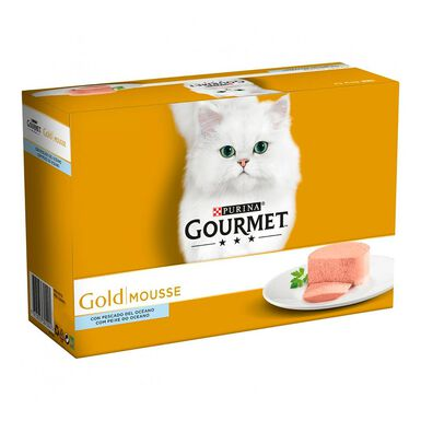 Latas Gourmet Gold Mousse 12 x 85 gr