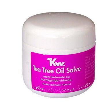 Kw crema reparadora para perro aceite árbol del té