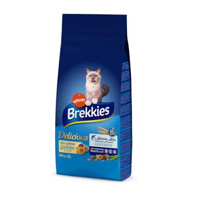 Brekkies Excel pienso Delice de pescado para gatos