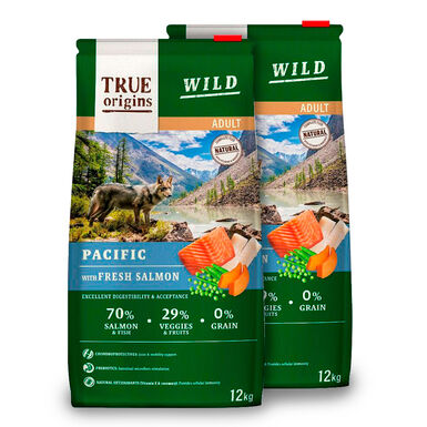 True Origins Wild Dog Pacific Adult - 2x12 kg Pack Ahorro