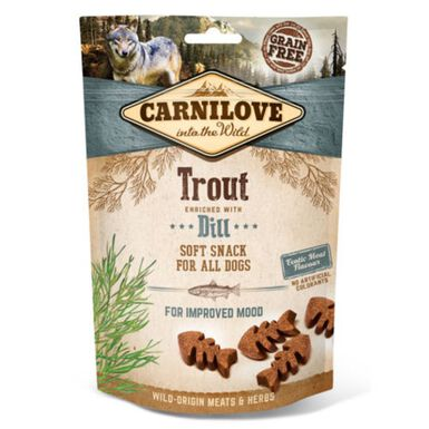 Carnilove Soft Snack Trucha snack para perros