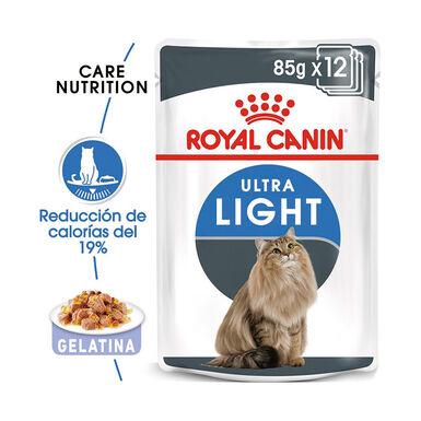 Pack 12 Sobres Royal Canin Feline Ultra Light 85 gr