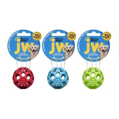 JW Dog pelota de caucho con agujeros para perros