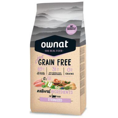 Ownat Just Grain Free Sterilized pienso gatos