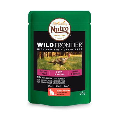 Nutro Wild Frontier gato pavo y pollo 4kg