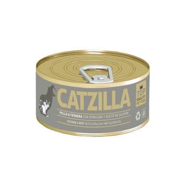 Lata Catzilla para gato 90 gr