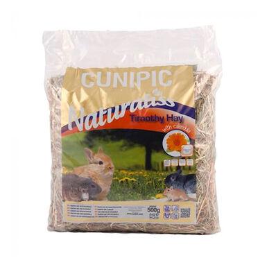 Heno Timothy Cunipic Naturaliss para roedor - 500 g
