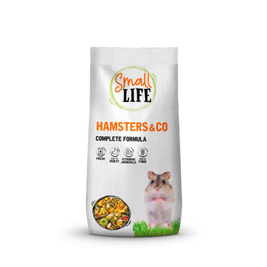 Alimento completo Small Life para hámster 800 gr