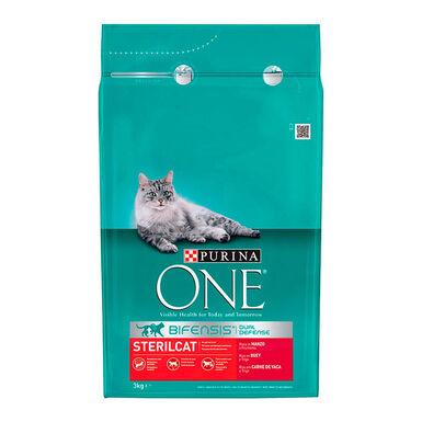 Purina One Gato Adult Esterilizado Buey y trigo