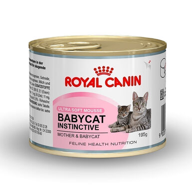 Pack 12 Latas Royal Canin Babycat Instinctive 195 gr