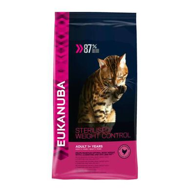 Eukanuba Sterilised Weight Control comida para gatos
