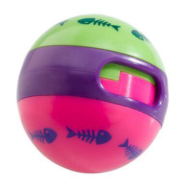 Ferplast pelota dispensadora de chuches para gatos