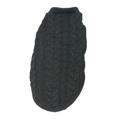 Jersey de trenza Outech color gris para perro