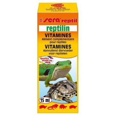 Sera Reptilin vitaminas para reptiles