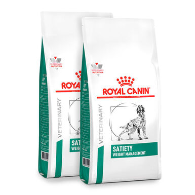 Royal Canin Veterinary Diet Satiety Support - 2x12 kg Pack Ahorro