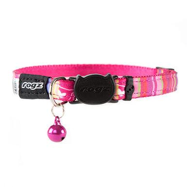 Rogz Neocat collar para gato rosa