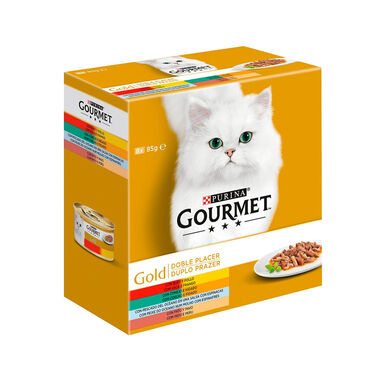 Gourmet Gold Doble Placer Surtido 8x85 gr
