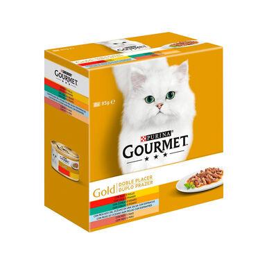 Gourmet Gold Doble Placer Surtido 8x85 gr