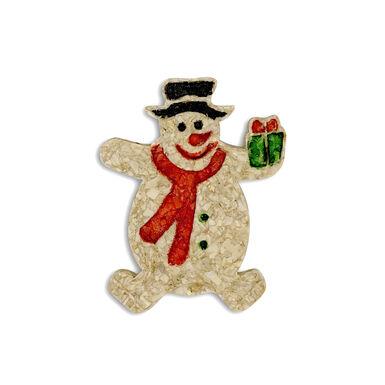 Snack Snowman Guau Christmas para perro