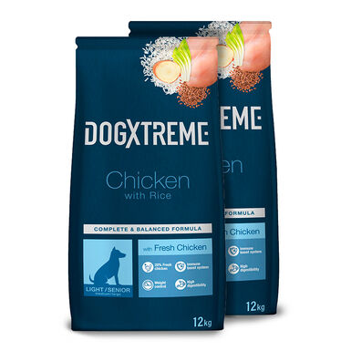 Dogxtreme Senior Light - 2x12 kg Pack Ahorro