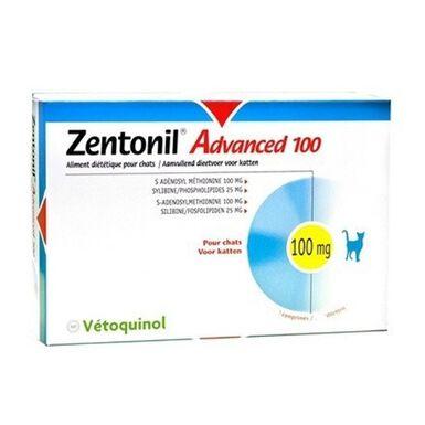 Vetoquinol Zentovil Advanced 100 para gatos hígado