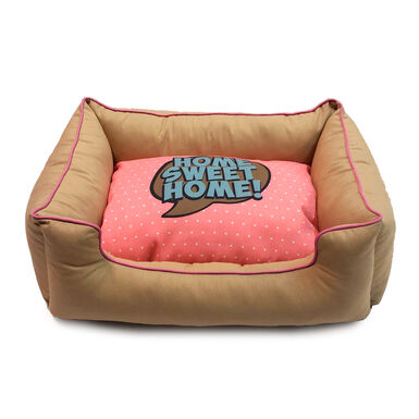 Cama Dogzzz Color Block Pink Comic Pausa