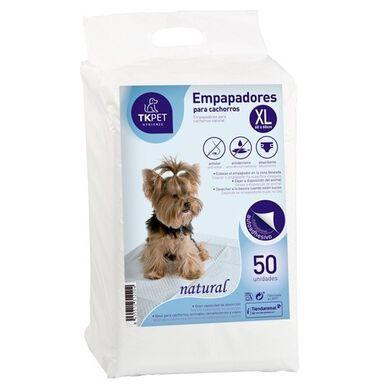 TK-Pet XL Natural empapadores para perro cachorro