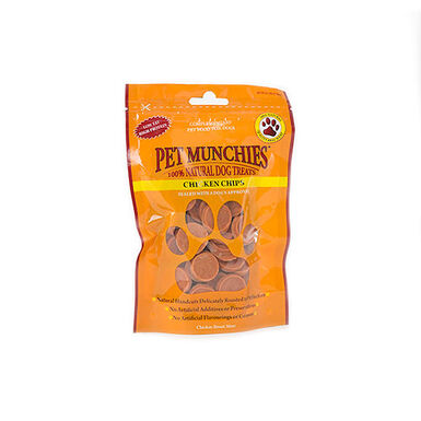 Pet Munchies chuches Chicken Chips para perros