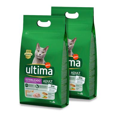 Affinity Ultima Feline Adult Sterilized pollo y cebada - 2 x 3 kg