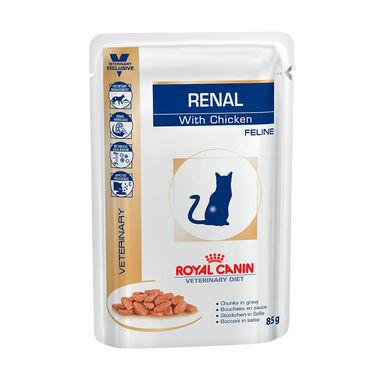 Pack 12 Sobres Royal Canin Veterinary Diet Feline Renal 85 gr