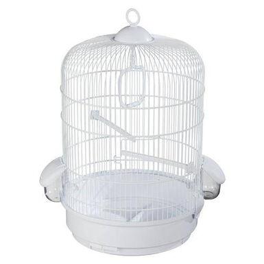 Voltrega redonda grande jaula para pájaros
