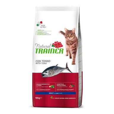 Pienso para Gatos Natural Trainer Cat Adult Atún