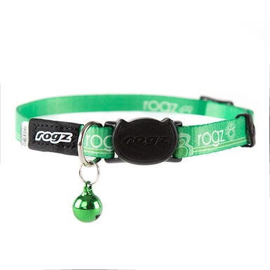 Rogz Kiddycat collar para gato verde