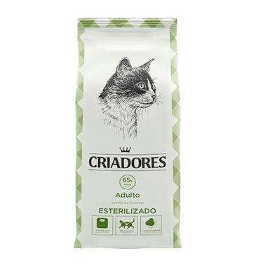 Criadores Especial Esterilizado pienso gatos pollo