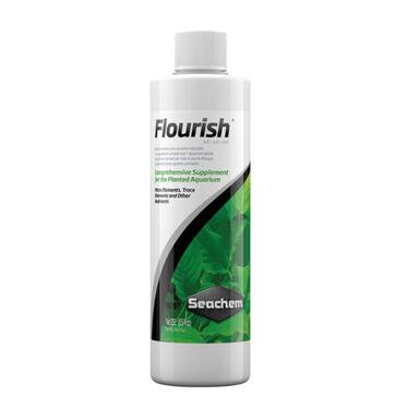 Seachem Flourish Complemento para plantas de acuario.